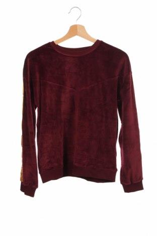 Детска блуза Only Kids, Размер 12-13y/ 158-164 см, Цвят Червен, 96% полиестер, 4% еластан, Цена 16,32лв.