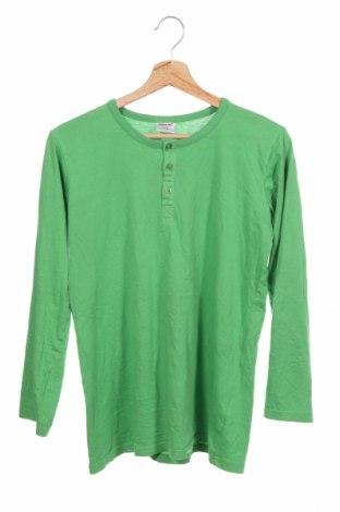 Детска блуза Pocopiano, Размер 12-13y/ 158-164 см, Цвят Зелен, Памук, Цена 4,46лв.