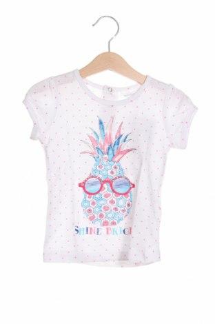 Детска блуза Pumpkin Patch, Размер 12-18m/ 80-86 см, Цвят Бял, Памук, Цена 13,00лв.