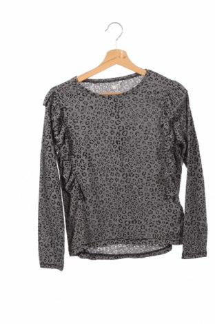 Детска блуза Review, Размер 11-12y/ 152-158 см, Цвят Сив, 50% памук, 50% полиестер, Цена 25,50лв.