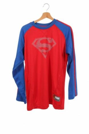 Детска блуза Superman, Размер 15-18y/ 170-176 см, Цвят Червен, Полиестер, Цена 6,83лв.