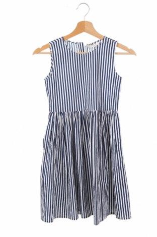 Детска рокля, Размер 8-9y/ 134-140 см, Цвят Син, Памук, Цена 22,00лв.