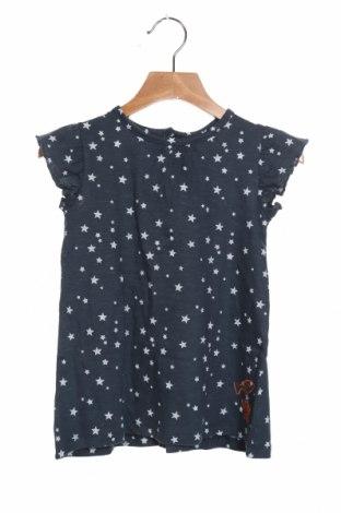 Детска рокля Cotton Fish, Размер 18-24m/ 86-98 см, Цвят Син, Памук, Цена 14,44лв.