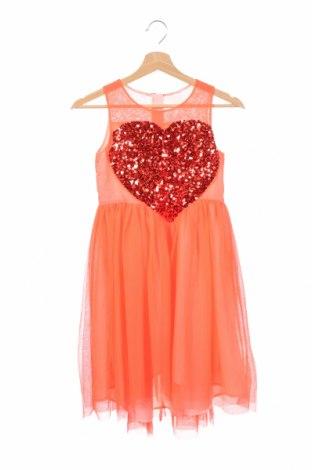 Детска рокля H&M, Размер 9-10y/ 140-146 см, Цвят Розов, Полиестер, Цена 9,83лв.