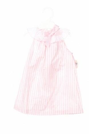 Детска рокля Lola Palacios, Размер 12-18m/ 80-86 см, Цвят Розов, Памук, Цена 28,50лв.