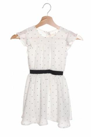 Детска рокля Mint & Berry, Размер 4-5y/ 110-116 см, Цвят Бял, 100% полиестер, Цена 23,00лв.