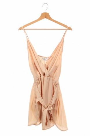 Детска рокля Showpo, Размер 14-15y/ 168-170 см, Цвят Бежов, Полиестер, Цена 8,13лв.
