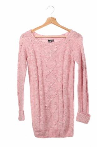 Παιδικό πουλόβερ Crash One, Μέγεθος 10-11y/ 146-152 εκ., Χρώμα Ρόζ , 85%ακρυλικό, 15% μαλλί, Τιμή 14,19€
