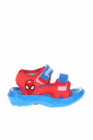 Παιδικά σανδάλια Spiderman, Μέγεθος 26, Χρώμα Μπλέ, Κλωστοϋφαντουργικά προϊόντα, Τιμή 11,66€