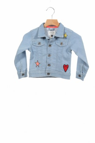 Детско яке, Размер 18-24m/ 86-98 см, Цвят Син, 72% памук, 25% полиестер, 3% еластан, Цена 46,80лв.