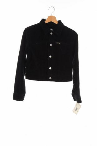 Детско яке Calvin Klein Jeans, Размер 12-13y/ 158-164 см, Цвят Черен, Памук, Цена 35,44лв.