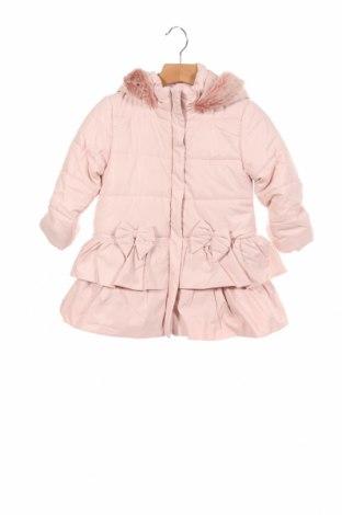 Детско яке Monsoon, Размер 18-24m/ 86-98 см, Цвят Розов, Полиестер, Цена 77,40лв.
