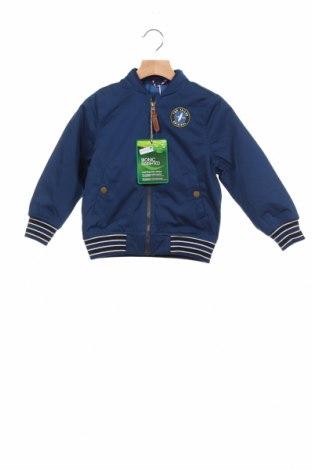 Детско яке Tom Tailor, Размер 3-4y/ 104-110 см, Цвят Син, 54% полиестер, 32% памук, 14% полиамид, Цена 41,40лв.
