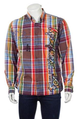 Ανδρικό πουκάμισο Desigual, Μέγεθος XL, Χρώμα Πολύχρωμο, Βαμβάκι, Τιμή 16,66€