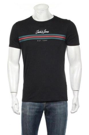 Męski T-shirt Originals By Jack & Jones, Rozmiar S, Kolor Czarny, Bawełna, Cena 70,20zł