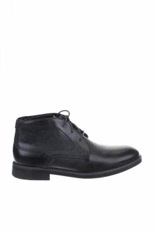 Ανδρικά παπούτσια Rockport, Μέγεθος 45, Χρώμα Γκρί, Γνήσιο δέρμα, Τιμή 39,41€