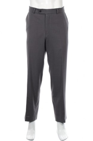 Мъжки панталон Atelier GARDEUR, Размер L, Цвят Сив, 60% вълна, 38% полиестер, 2% еластан, Цена 9,71лв.