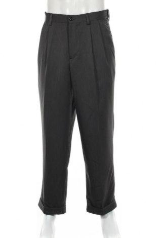 Мъжки панталон Izod, Размер L, Цвят Сив, Полиестер, Цена 6,20лв.