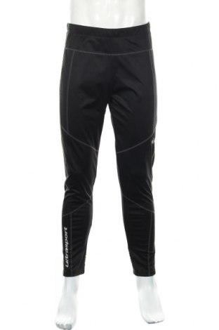 Męskie legginsy sportowe Ultrasport, Rozmiar L, Kolor Czarny, Poliester, Cena 74,25zł