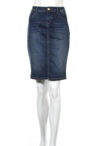 Spódnica Orsay, Rozmiar M, Kolor Niebieski, 79% bawełna, 20% poliester, 1% elastyna, Cena 54,63zł
