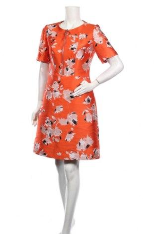 Sukienka Hugo Boss, Rozmiar L, Kolor Pomarańczowy, 64% poliester, 36% bawełna, Cena 437,63zł