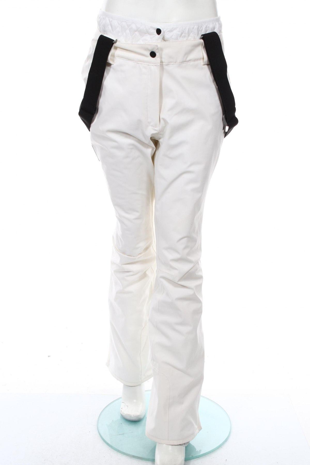 Дамски панталон за зимни спортове Nevica, Размер L, Цвят Бял, Полиестер, Цена 139,50лв.