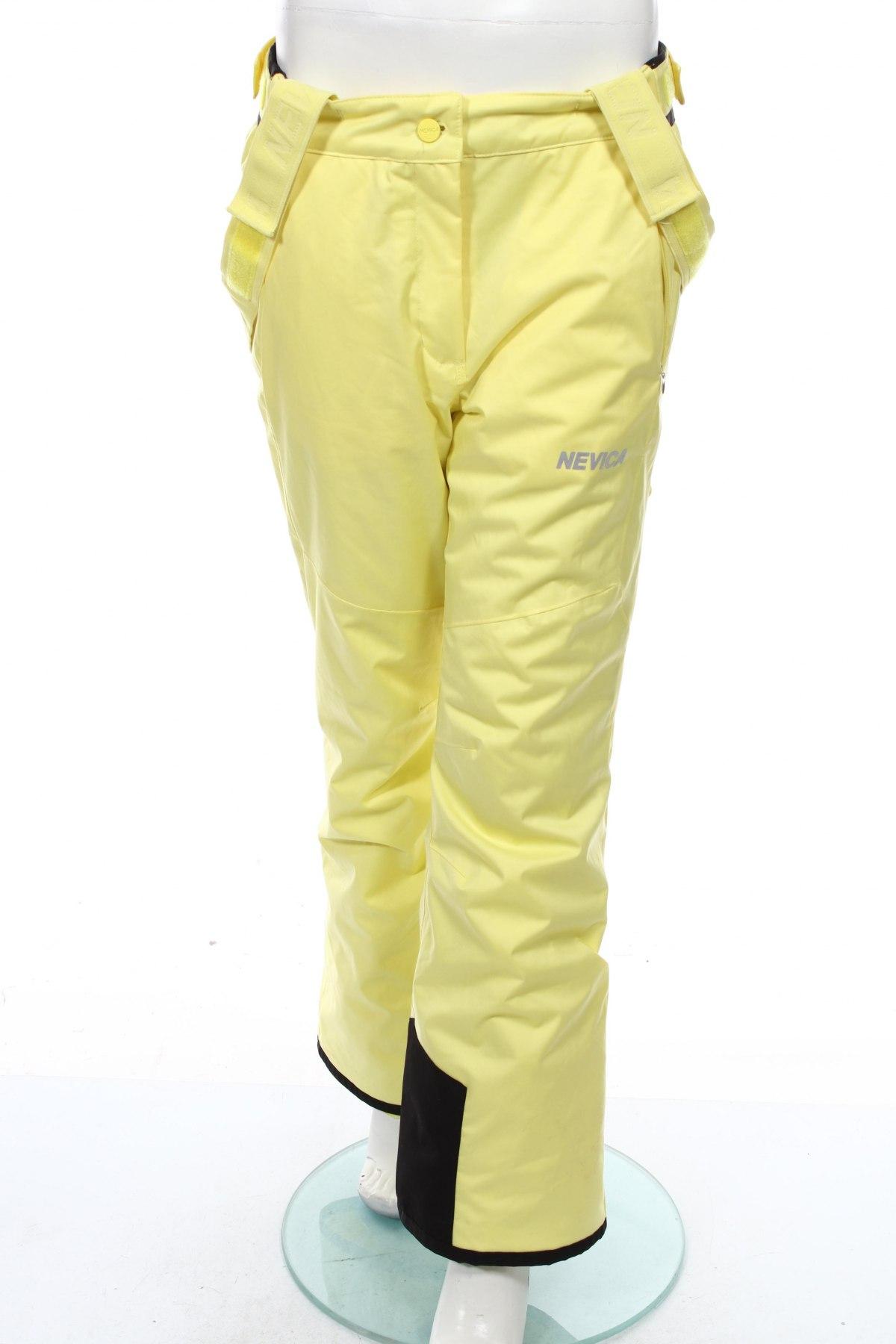 Дамски панталон за зимни спортове Nevica, Размер M, Цвят Жълт, Полиестер, Цена 63,24лв.