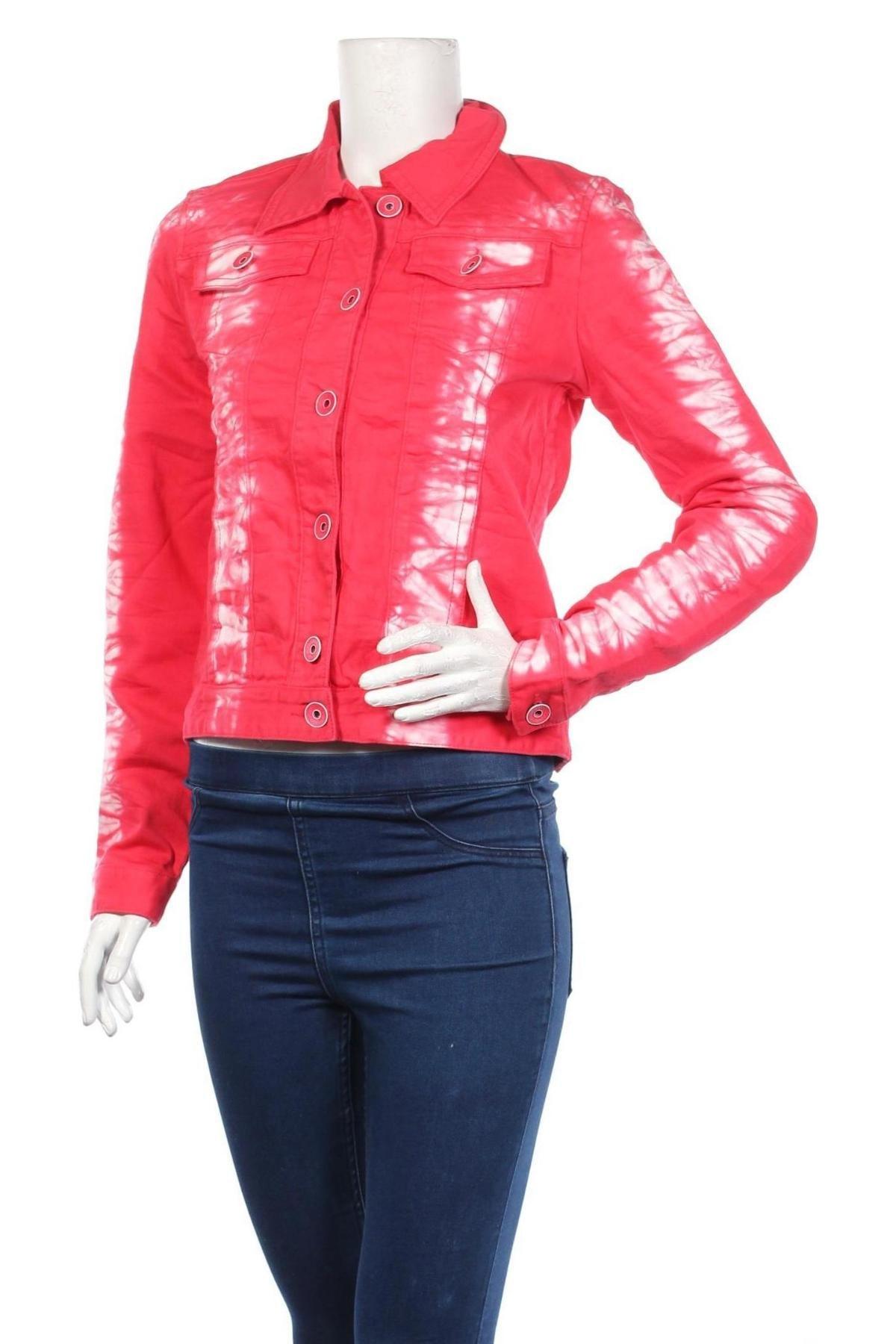 Дамско яке Liebeskind, Размер S, Цвят Червен, 98% памук, 2% еластан, Цена 62,65лв.