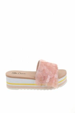 Pantofle Ella Cruz, Velikost 39, Barva Růžová, Textile , Eko kůže, Cena  568,00Kč