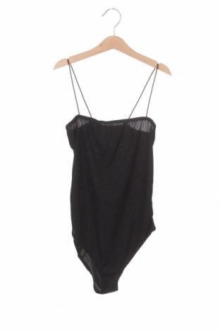 Γυναικεία μπλούζα-Κορμάκι Boohoo, Μέγεθος M, Χρώμα Μαύρο, 95% πολυεστέρας, 5% ελαστάνη, Τιμή 6,14€