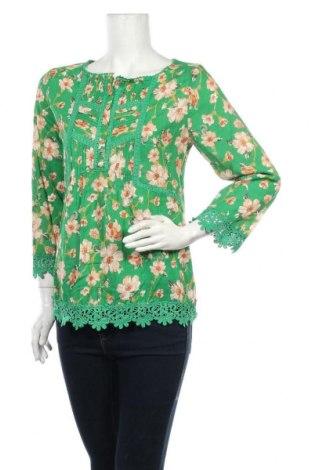 Дамска блуза Anany, Размер S, Цвят Зелен, Вискоза, Цена 16,17лв.