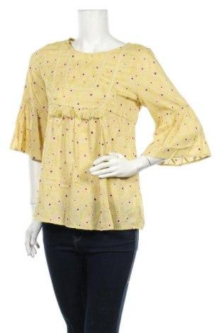 Дамска блуза Anany, Размер S, Цвят Жълт, Вискоза, Цена 16,56лв.
