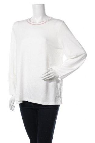 Γυναικεία μπλούζα Banana Republic, Μέγεθος L, Χρώμα Λευκό, 63% πολυεστέρας, 33% βισκόζη, 4% ελαστάνη, Τιμή 8,18€