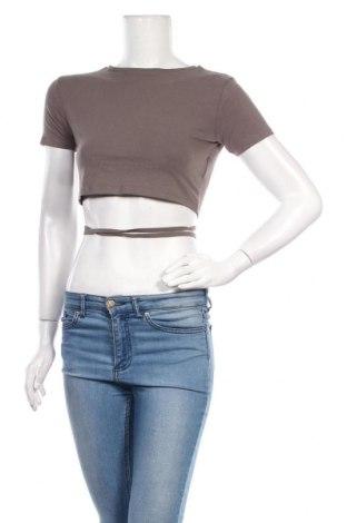 Дамска блуза Brave Soul, Размер M, Цвят Сив, 95% памук, 5% еластан, Цена 16,50лв.