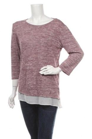 Дамска блуза Colours Of The World, Размер M, Цвят Червен, 55% полиестер, 43% вискоза, 2% еластан, Цена 4,46лв.