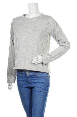 Дамска блуза Colours Of The World, Размер S, Цвят Сив, 70% полиестер, 30% памук, Цена 12,60лв.
