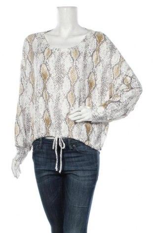 Дамска блуза Express, Размер L, Цвят Многоцветен, 74% вискоза, 21% полиестер, 5% еластан, Цена 14,96лв.