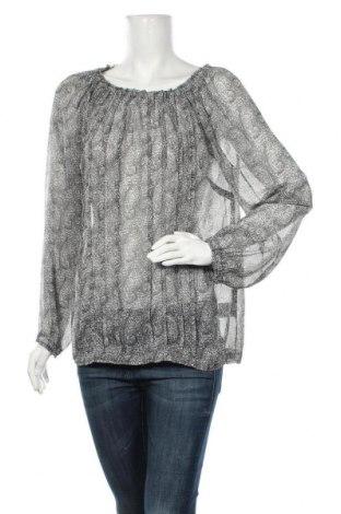 Дамска блуза Free Quent, Размер L, Цвят Сив, 100% полиестер, Цена 6,96лв.
