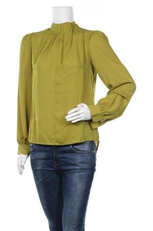 Дамска блуза Guido Maria Kretschmer for About You, Размер S, Цвят Зелен, Полиестер, Цена 36,75лв.