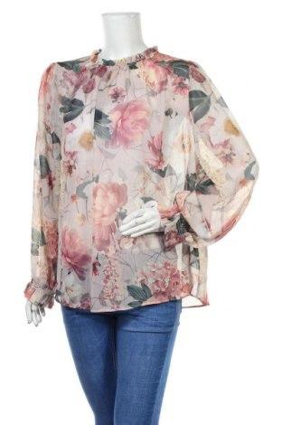Bluză de femei H&M, Mărime XL, Culoare Multicolor, Poliester, Preț 63,00 Lei