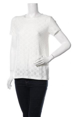 Дамска блуза Jacqueline De Yong, Размер M, Цвят Бял, 92% полиестер, 8% еластан, Цена 10,50лв.