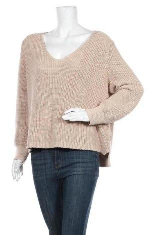Дамска блуза LeGer By Lena Gercke, Размер L, Цвят Бежов, 50% памук, 50% полиакрил, Цена 44,85лв.