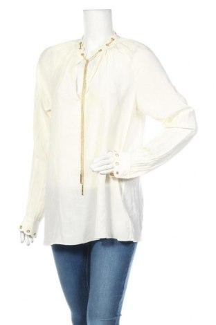 Γυναικεία μπλούζα MICHAEL Michael Kors, Μέγεθος L, Χρώμα Εκρού, Μετάξι, Τιμή 66,56€
