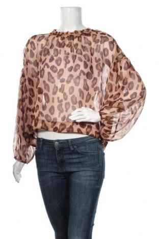 Дамска блуза Maryley, Размер M, Цвят Кафяв, Полиестер, Цена 6,80лв.