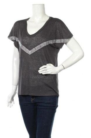 Дамска блуза ONLY, Размер M, Цвят Сив, 70% вискоза, 30% полиестер, Цена 9,75лв.