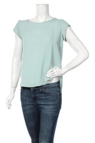 Дамска блуза ONLY, Размер XS, Цвят Зелен, 97% полиестер, 3% еластан, Цена 10,50лв.