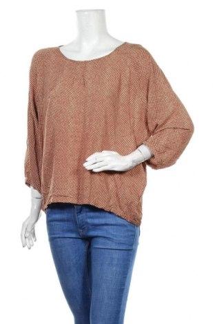 Дамска блуза Part Two, Размер XL, Цвят Кафяв, Цена 13,39лв.
