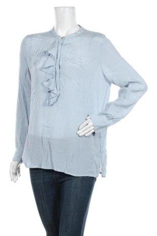 Дамска блуза Part Two, Размер L, Цвят Син, Вискоза, Цена 17,01лв.