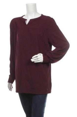 Γυναικεία μπλούζα Tom Tailor, Μέγεθος XL, Χρώμα Βιολετί, 48% βαμβάκι, 47% μοντάλ, 5% ελαστάνη, Τιμή 12,45€