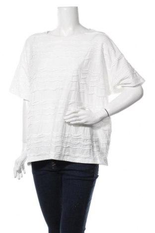 Γυναικεία μπλούζα Tom Tailor, Μέγεθος 3XL, Χρώμα Λευκό, 50% βαμβάκι, 50% πολυεστέρας, Τιμή 16,24€